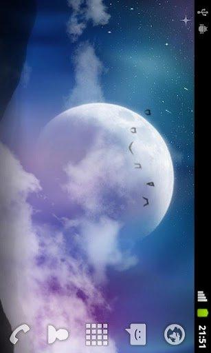 Скриншот Мистик Ночь живые обои для Android