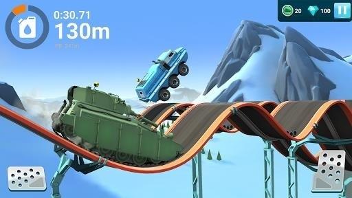 Скриншот MMX Hill Dash 2 для Android