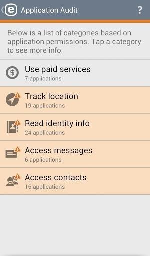 Скриншот Mobile Security & Antivirus для Android