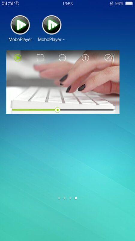 Скриншот MoboPlayer для Android