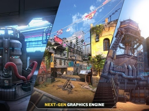 Скриншот Modern Combat Versus для Android