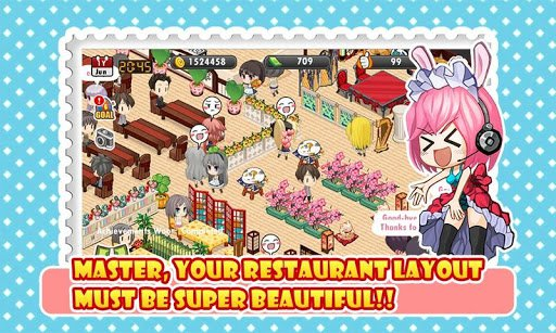 Скриншот Moe Girl Cafe для Android