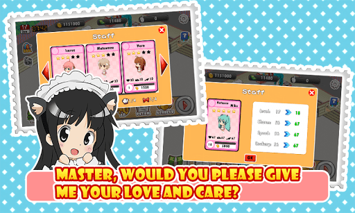 Скриншот Moe Girl Cafe для Android