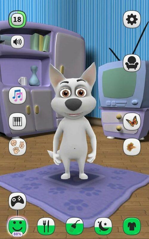 Скриншот Моя Говорящая Собака для Android