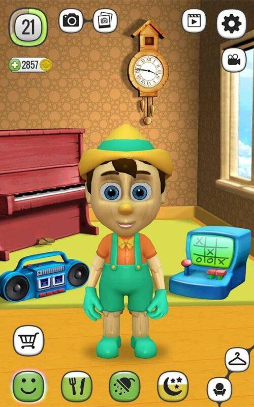 Скриншот Мой говорящий Буратино для Android