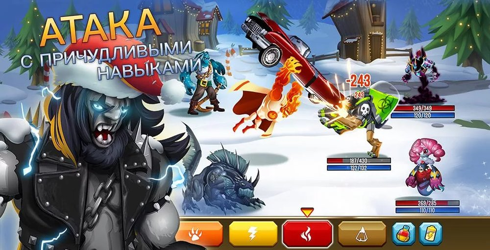 Скриншот Monster Legends для Android