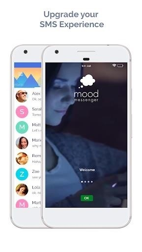 Скриншот MOOD Messenger для Android