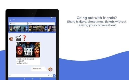 Скриншот MOOD Messenger для Android