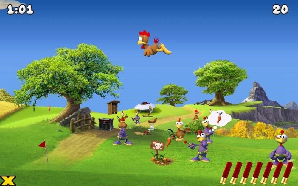 Скриншот Moorhuhn Invasion для Android