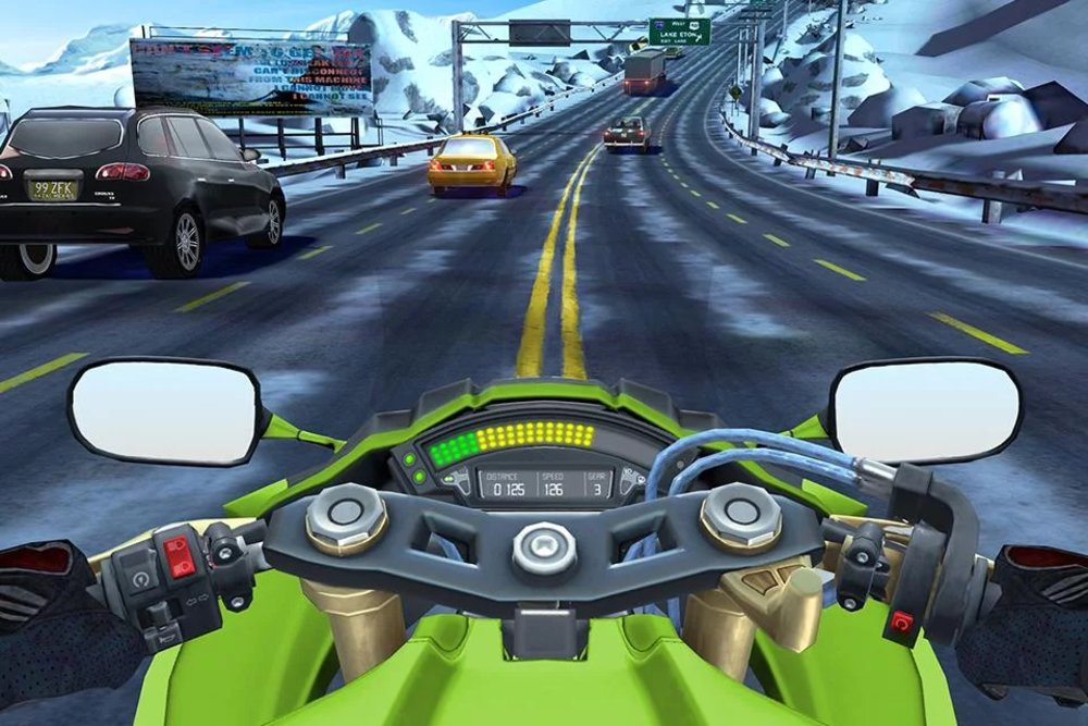 Скриншот Moto Rider GO: Highway Traffic для Android