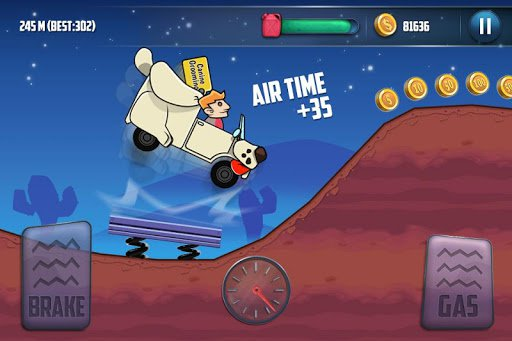 Скриншот Mountain Climb Race 3 для Android
