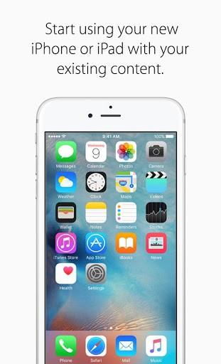 Скриншот Move to iOS для Android