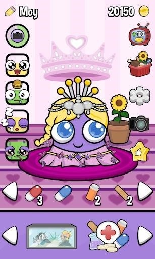 Скриншот Moy 3 Virtual Pet Game для Android