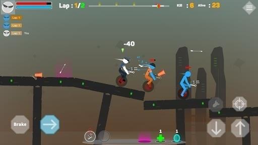 Скриншот Mr Stick: Epic survival для Android
