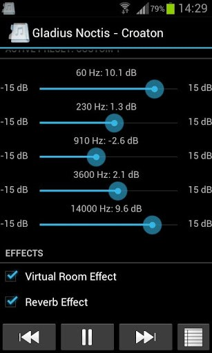 Скриншот Music Folder Player Free для Android