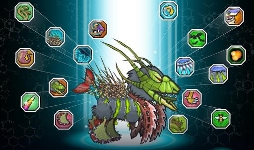Скриншот Mutant Fighting Cup 2 для Android
