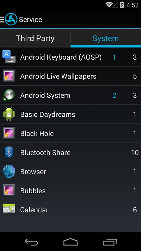 Скриншот My Android Tools для Android