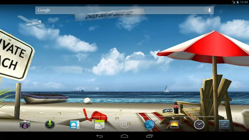 Скриншот My Beach HD для Android