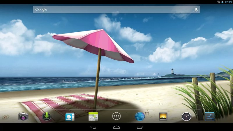 Скриншот My Beach HD для Android