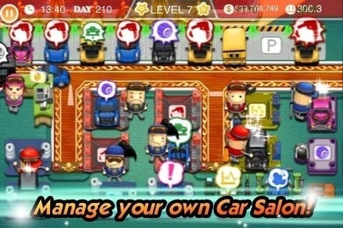 Скриншот My Car Salon для Android