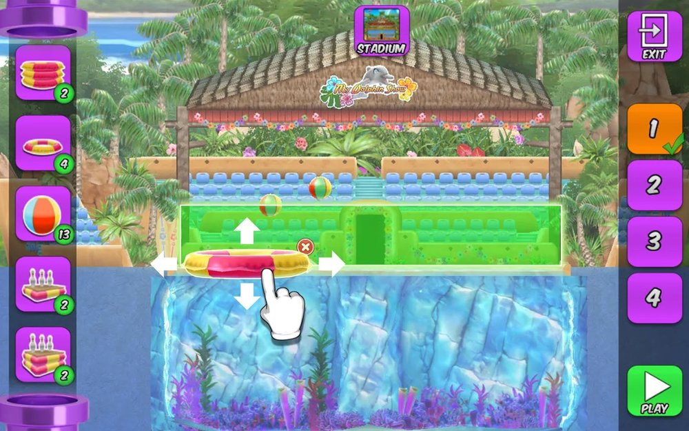 Скриншот My Dolphin Show для Android