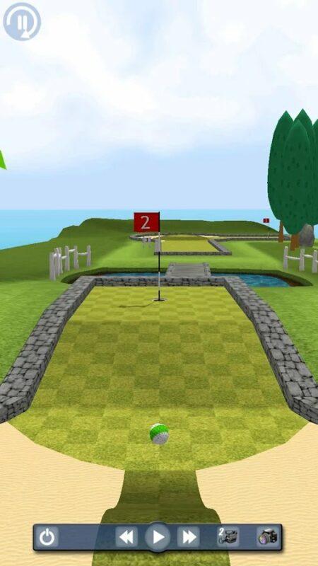 Скриншот My Golf 3D для Android