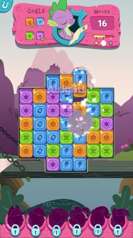 Скриншот My Little Pony: Puzzle Party для Android