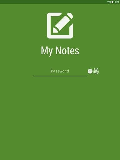 Скриншот My Notes: Notepad для Android