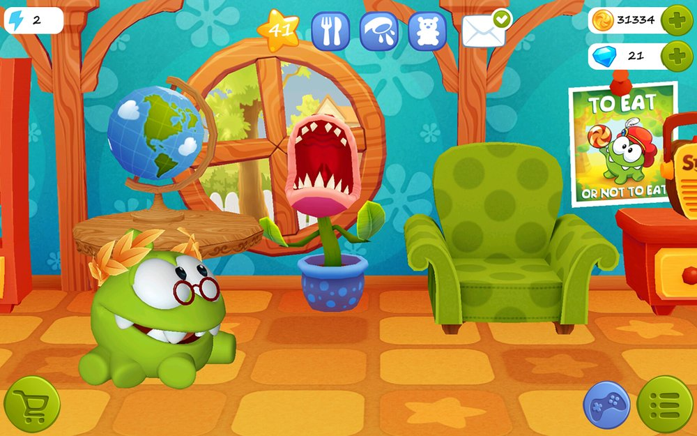 Скриншот My Om Nom для Android