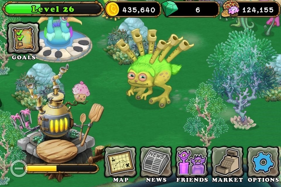 Скриншот My Singing Monsters для Android