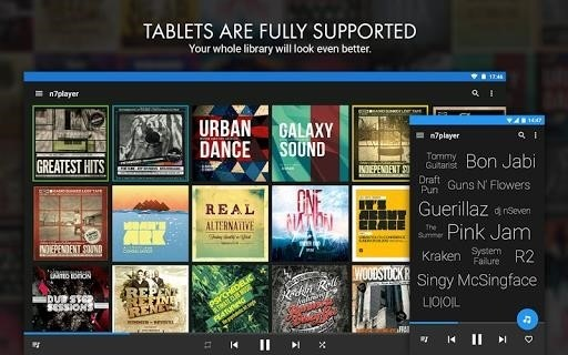 Скриншот n7player для Android