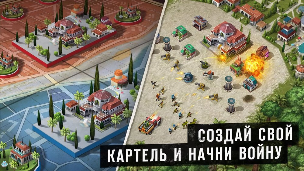 Скриншот Narcos: Cartel Wars для Android