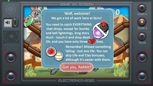 Скриншот Настоящий Ну, Погоди! 2 для Android