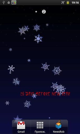 Скриншот Настоящий снегопад / Real Snow Live Wallpaper для Android
