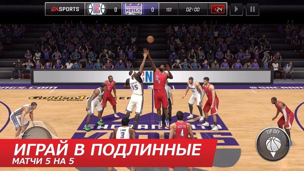 Скриншот NBA LIVE Mobile для Android