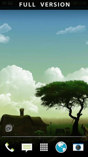 Скриншот Нефритовая природа HD для Android