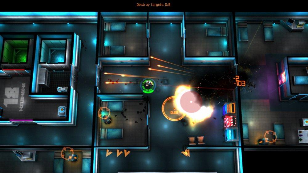 Скриншот Neon Chrome для Android