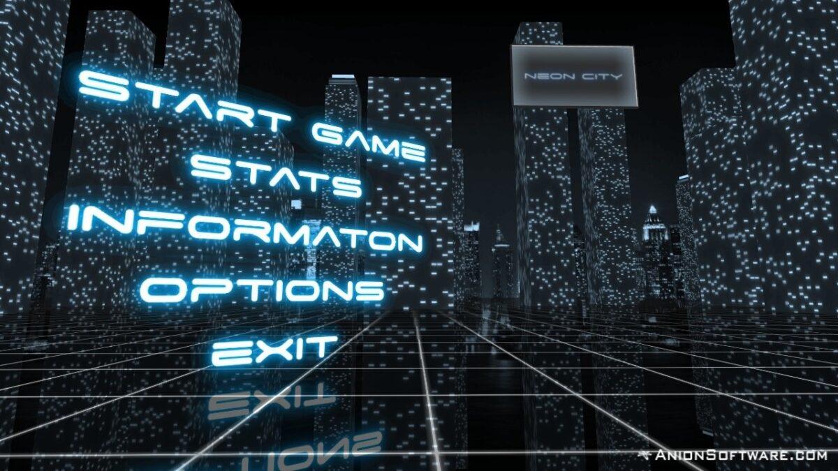 Скриншот Neon City для Android