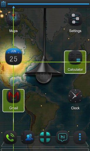 Скриншот Next magic light livewallpaper для Android