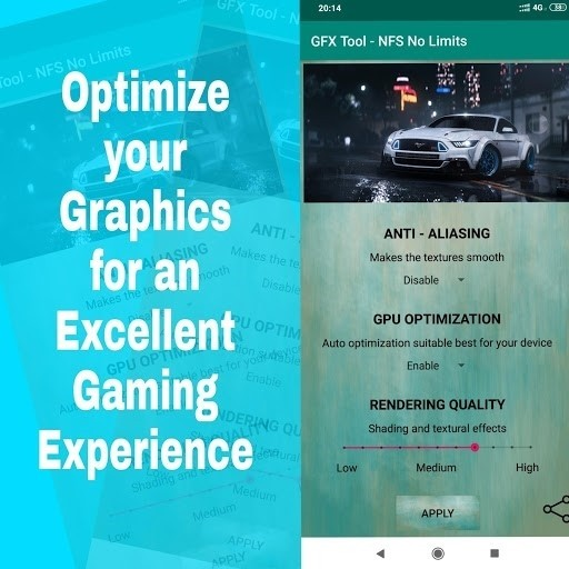 Скриншот NFS No Limits для Android