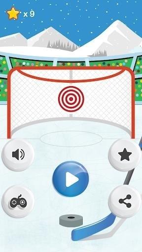 Скриншот NHL Hockey Target Smash для Android