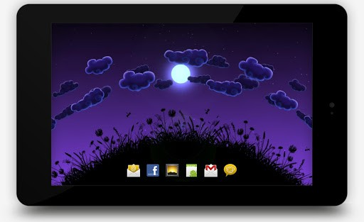 Скриншот Night Nature HD для Android
