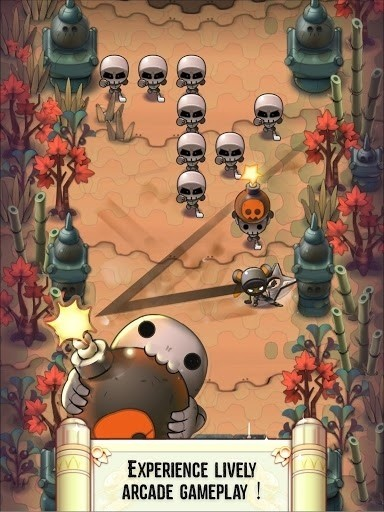 Скриншот Nindash: Skull Valley для Android