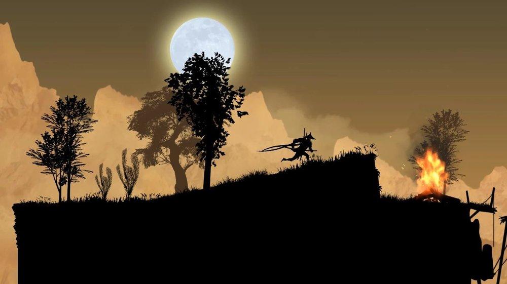 Скриншот Ninja Arashi для Android