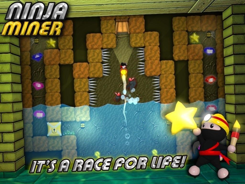Скриншот Ninja Miner для Android