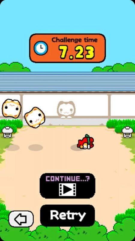 Скриншот Ninja Spinki Challenges для Android