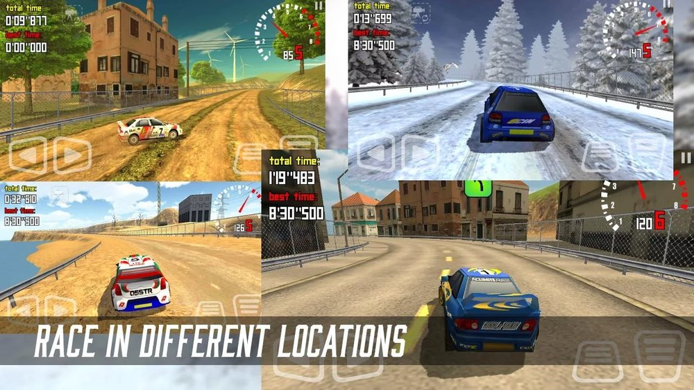 Скриншот No Limits Rally для Android