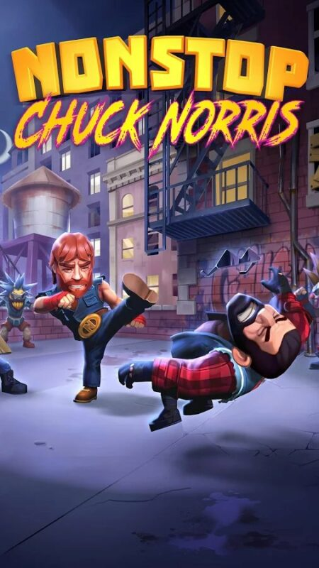Скриншот Nonstop Chuck Norris для Android