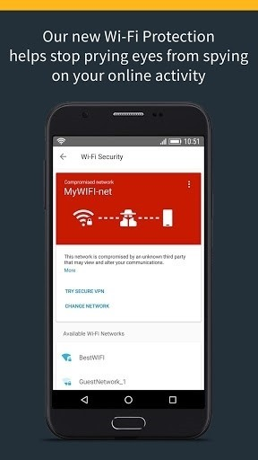 Скриншот Norton Security для Android