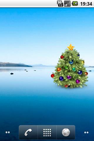 Скриншот Новогодняя елка (Виджет) / New Year Tree для Android